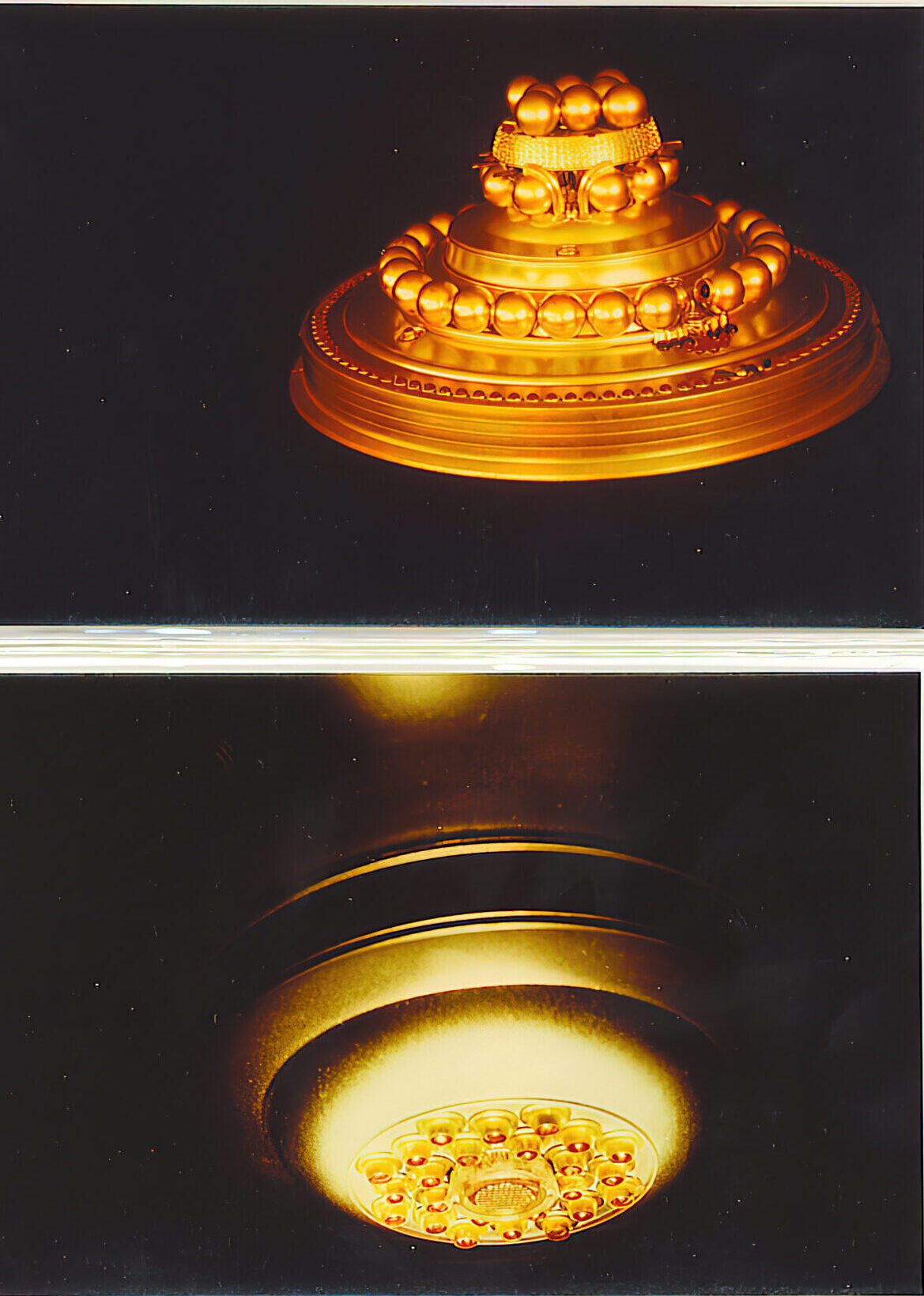 WCUFO - Gold Appearance and bottom of ship