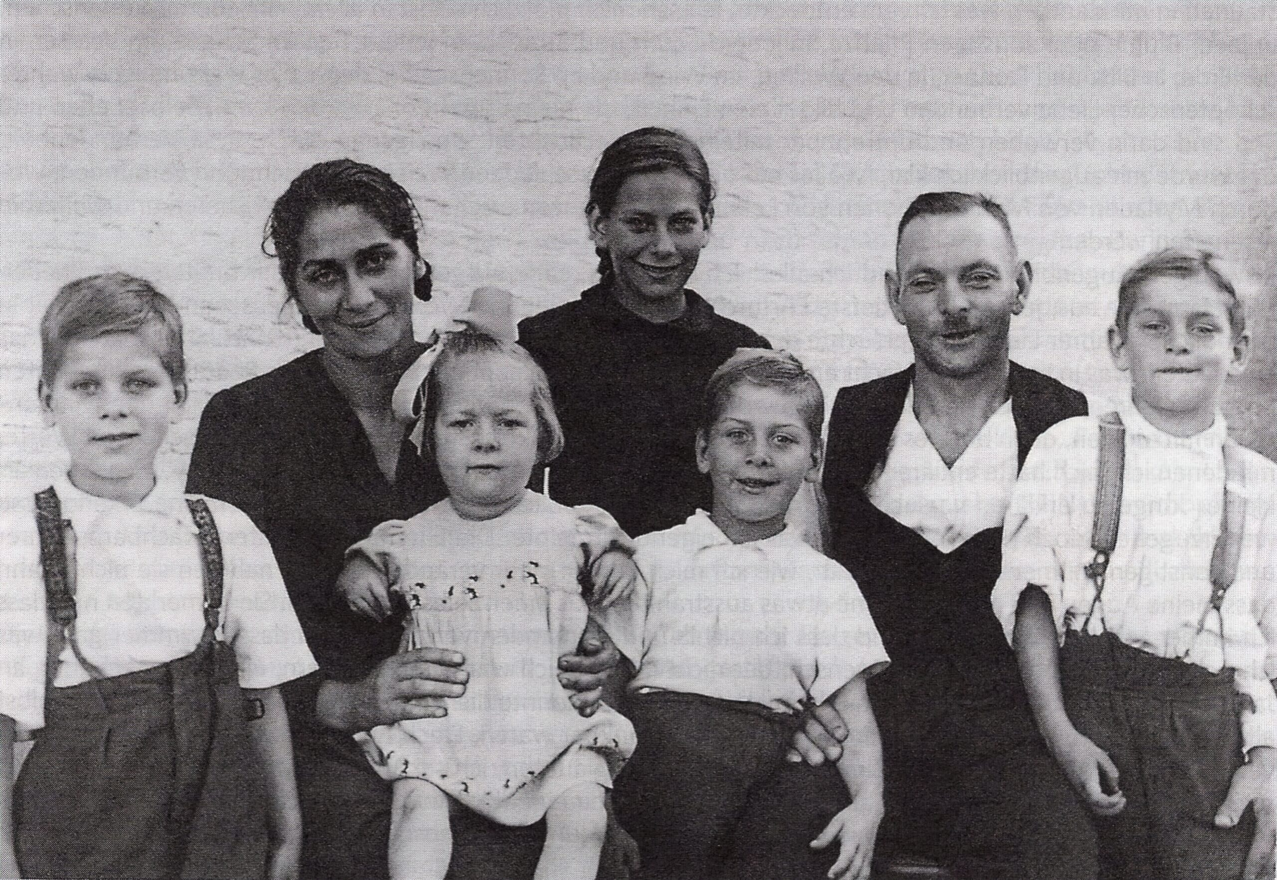 The Meier family in the year 1945